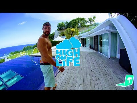 STUPID $3000 A DAY VILLA COMPOUND.. with High On Life! 🌴(#1 Best Most Expensive Villa House Tour)