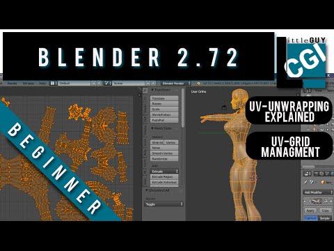 How To UV Unwrap  In Blender 2.72