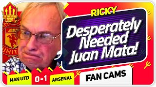 RICKY! Ole Got it Wrong! Manchester United 0-1 Arsenal FanCam