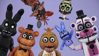 BRICK 101 FNAF roleplay compilation 2 | LEGO + McFarlane Toys Five Nights at Freddy's highlights