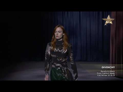GIVENCHY Paris Fashion Week Fall/Winter 2018-19