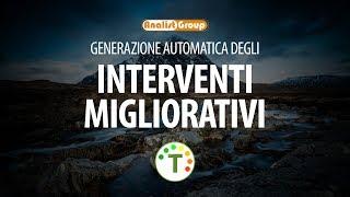 Generazione automatica degli interventi migliorativi in TermiPlan