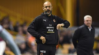 Nuno speaks ahead of PNE clash