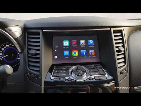 Android Auto Pro 6.0.1 для Infiniti/Nissan 08IT