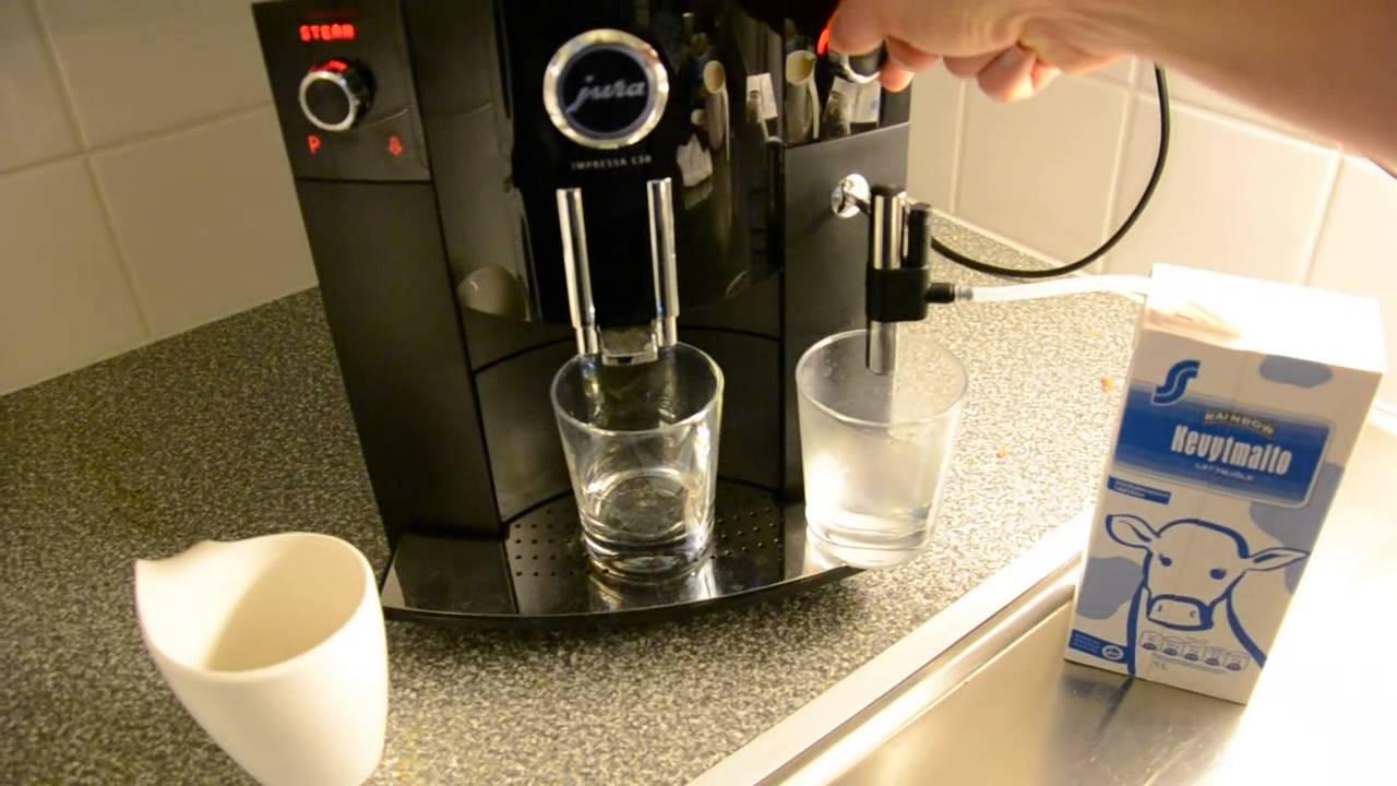 Jura Impressa C50 Kahviautomaatti Testissä Youtube
