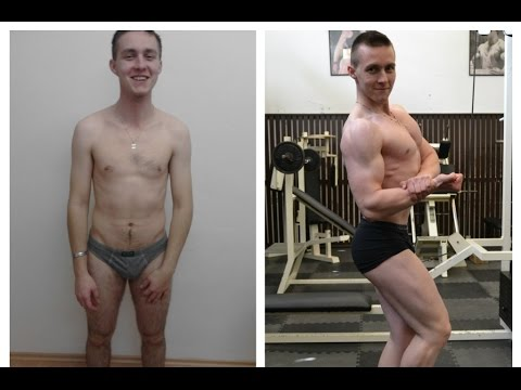 Transformation journey of Martin Javorský (life story, muscle gain)