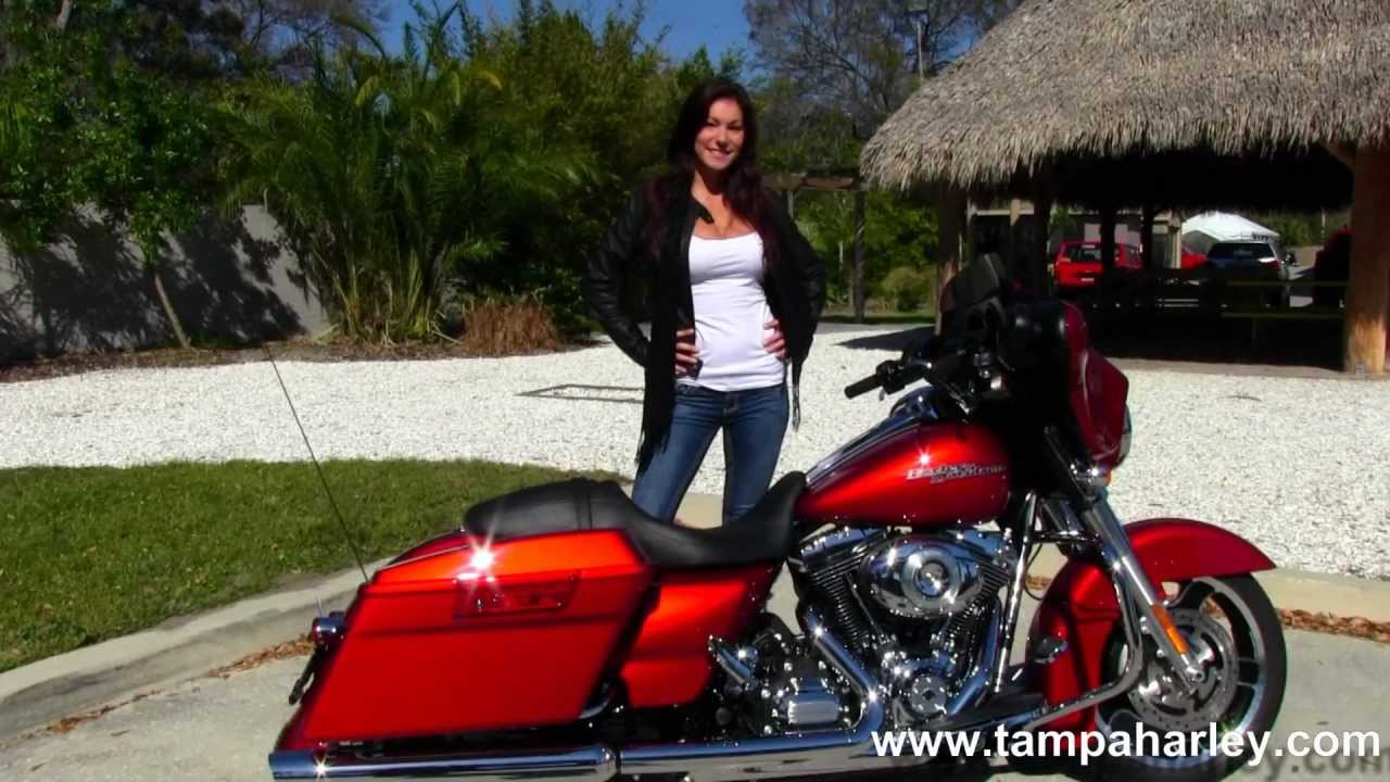 New 2013 HarleyDavidson FLHX Street Glide in Ember Red