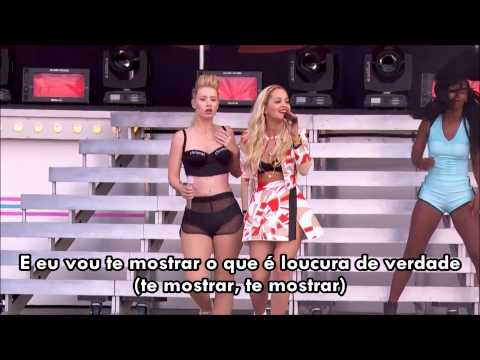 Iggy Azalea Feat Rita Ora- Black Widow Live (Legendado)