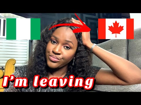FINALLY!! Moving to Canada from Nigeria / I'm doing this for my son #EndSars