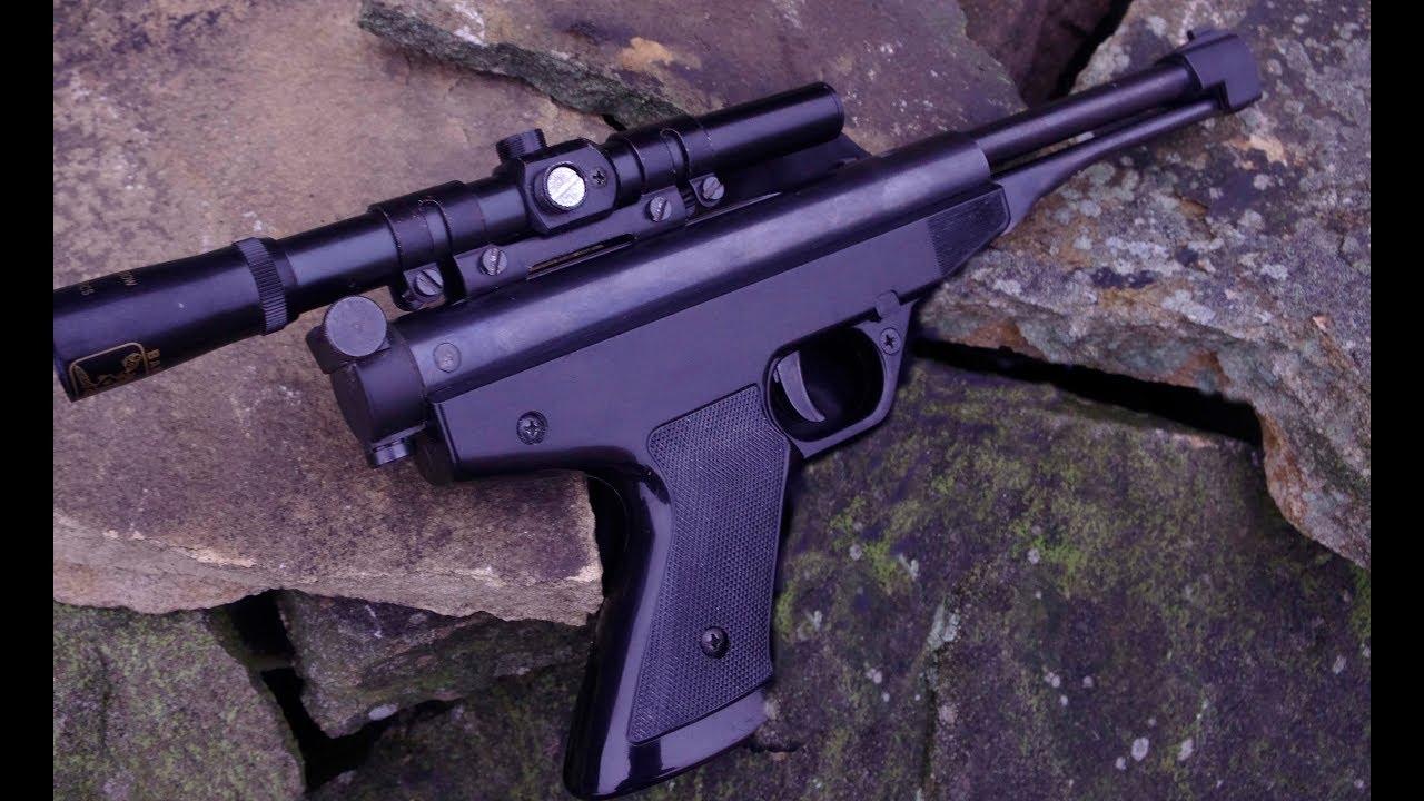 Gamo  177 Falcon air pistol review