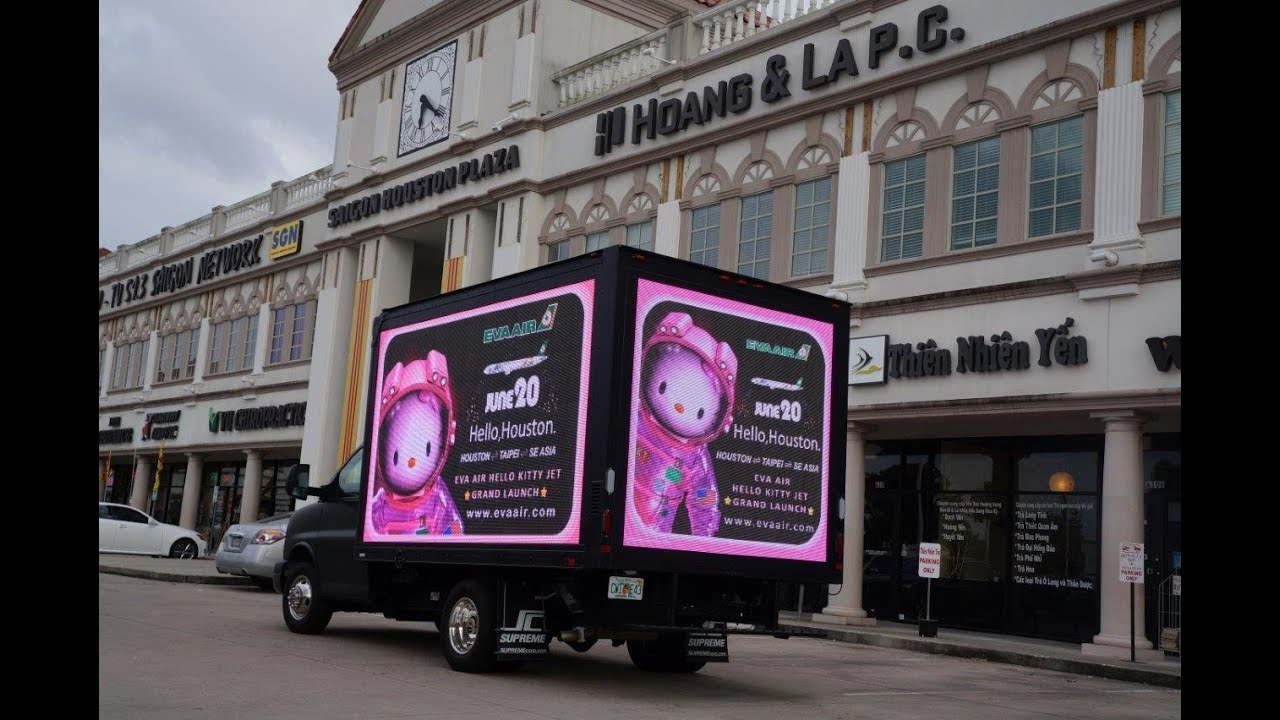 P8 Digital Mobile LED Billboard Truck for sale