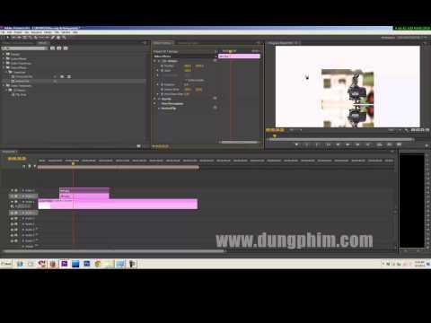 Học dựng phim -Hiệu ứng đổ bóng trong Adobe Premiere