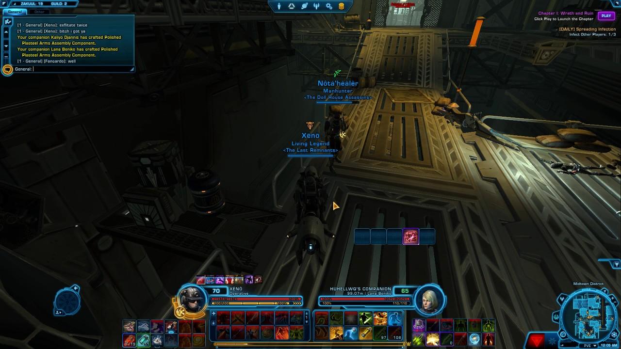 SWTOR Epic Botting