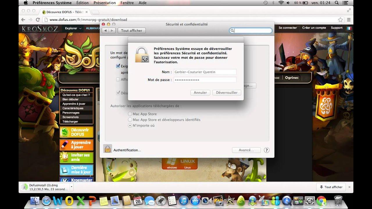 dofus 1.29 pour mac