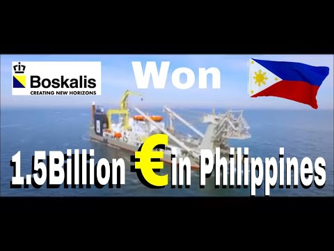 Boskalis Deals 1.5Billion Euro to The Philippines Making the Largest Deal in History