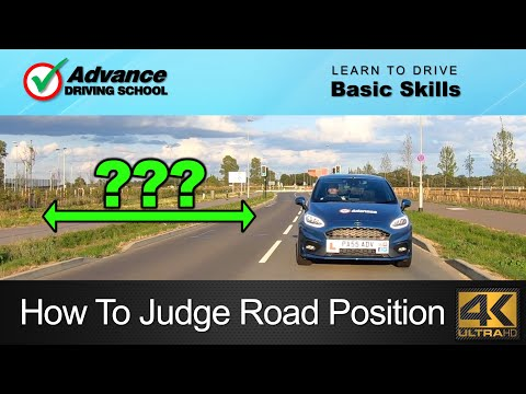 How To Judge Your Road Position  |  Learning to drive: Car Control skills