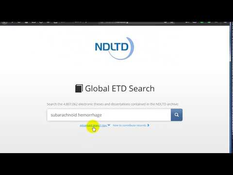 NDLTD Website To Download Thesis And Dissertations Free And Legal