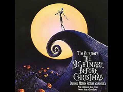 Tim Burton's The Nightmare Before Christmas Soundtrack - YouTube