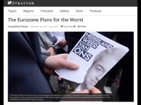 2017: Make Or Break Year For EU Eurozone; What Will Rise In Its Place?