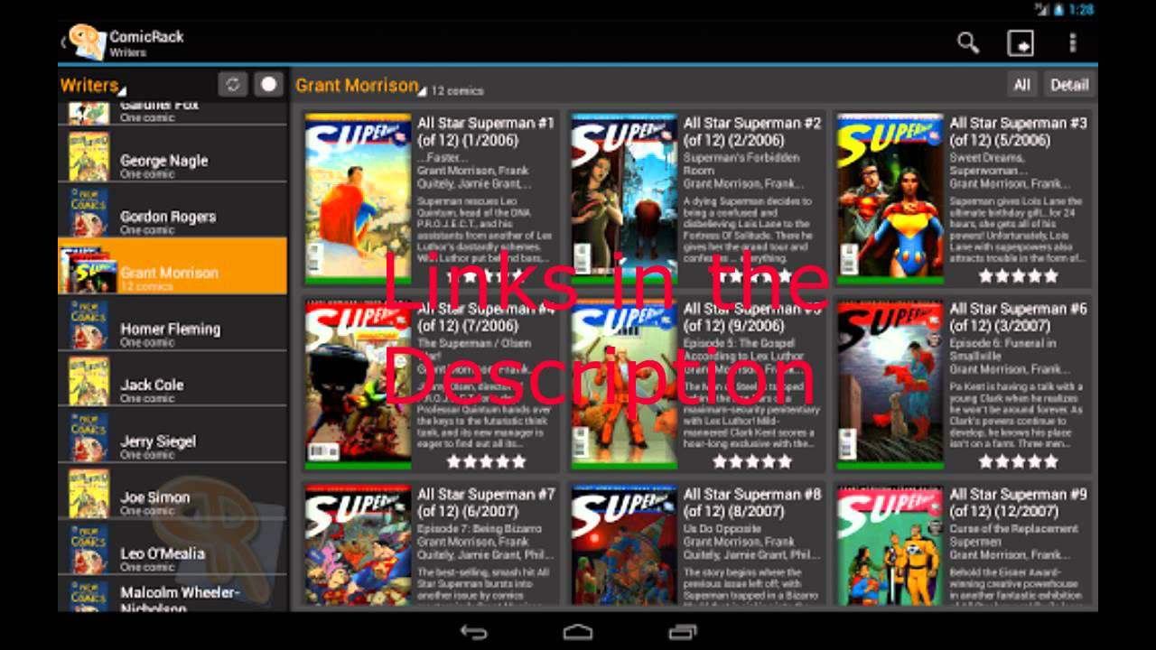 Download ComicRack For Pc and Android