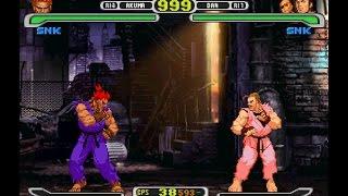 Capcom vs. SNK Pro [PS1] - play as Akuma
