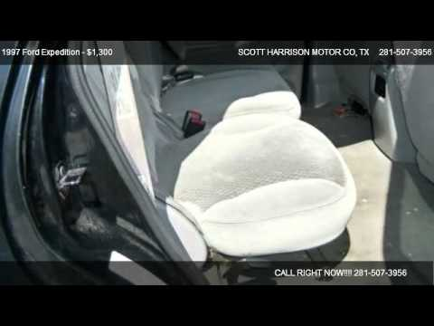 1997 ford expedition xlt eddie bauer for sale in for Scott harrison motors houston tx