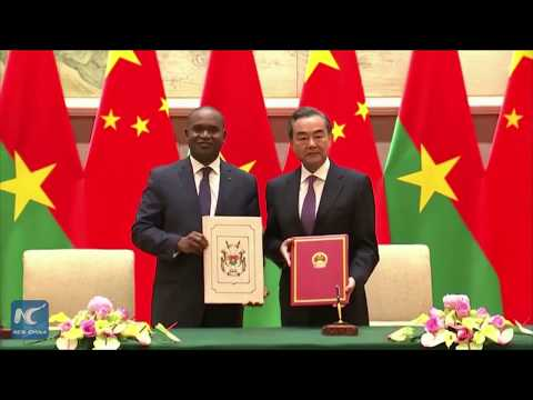 China, Burkina Faso resume diplomatic ties