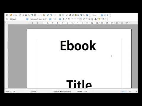 Create An Ebook With Instant Ebook Template