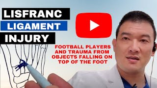 Lis Franc's Ligament Injury discussion: Dr. Kevin Lam