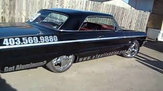 a1 polish king 64 impala ss and tricked out truck on juice