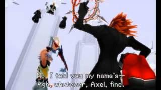 KH Drop Distance: Axel/Lea saves Sora