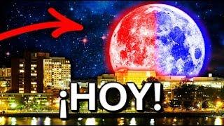 ¡HOY! Super Luna de Sangre Azul - Única en 150 Años ¿Que Es? Como Verla? Eclipse - Llena
