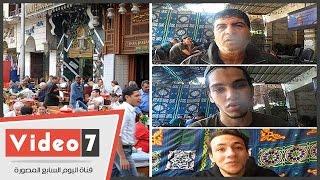 بالفيديو..رواد القهاوى: