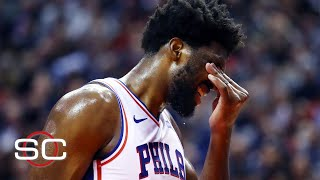 NBA scouts aren't worried about Joel Embiid - Brian Windhorst | SportsCenter