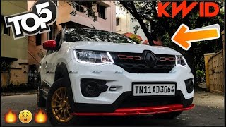 Top 5 Best Modified Renault Kwid | All Details |