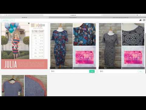 How To Shop LuLaRoe Using RoeWithMe