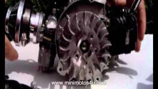 Mini moto engine split down - How to split a minimoto engine
