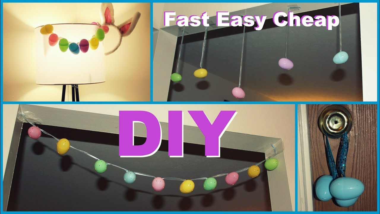Diy easter decorations easy fast cheap youtube - How to make easter decorations ...