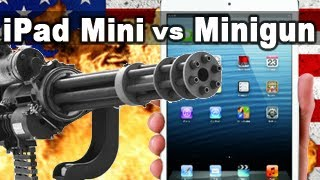 iPad Mini vs Minigun - Tech Assassin - RatedRR - iPad Mini thumbnail
