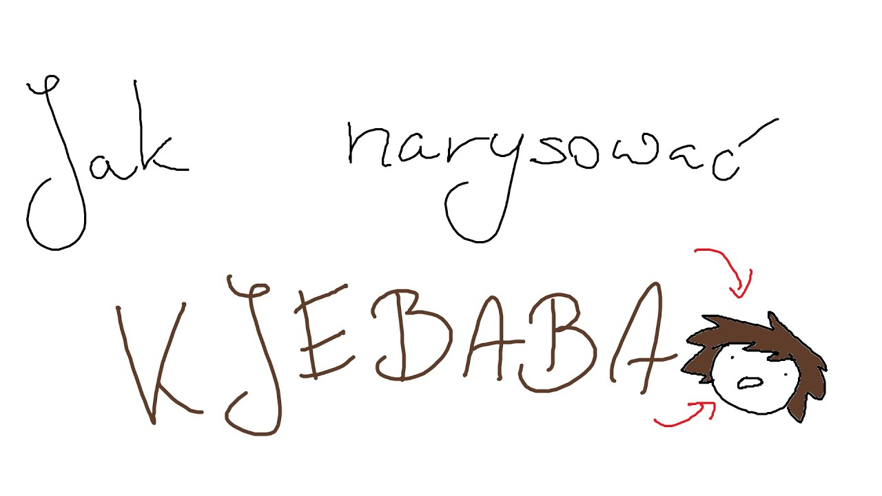 Jak narysować Kjebaba