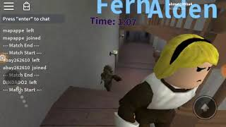 Avoid me i've been a werewolf (ROBLOX)