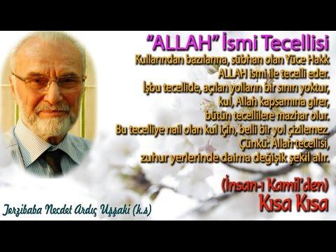 Allah Ismi Tecellisi
