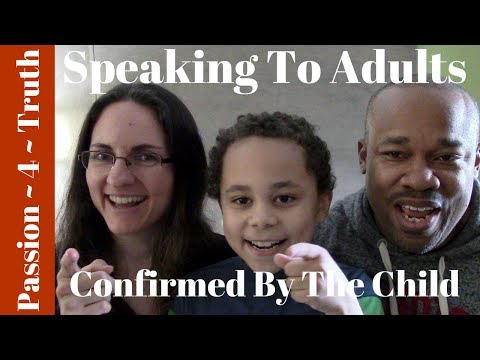 Word Of Encouragement To Adults Confirmed By The Child   PROPHETIC THINGS