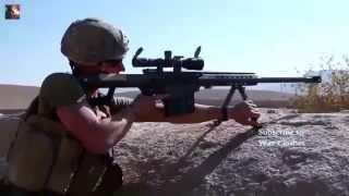 США воюет в Афганистане. Стрельба морпехов.