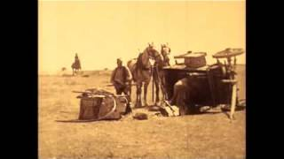 Cherokee Strip Land Rush Scene from Tumbleweeds