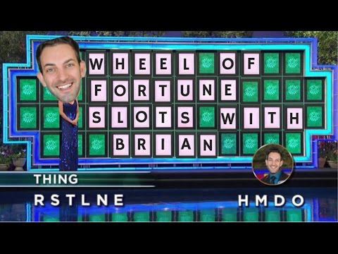 Wheel of Fortune Slots with Brian ✦ LIVE PLAY ✦ Slot Machines in Canada and US