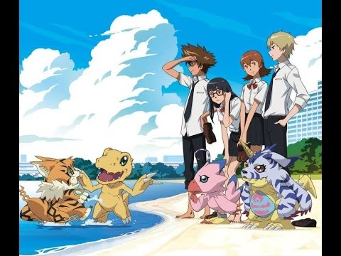 First 5 minutes of Digimon Adventure tri. Movie 3: Kokuhaku