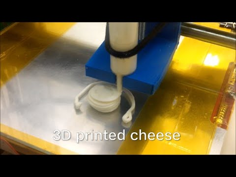 Researchers have 3D printed cheese