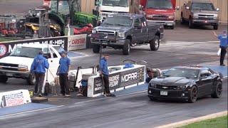 Sleeper Chevy Blazer Takes Down Chevy Camaro ZL1