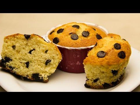 recette-de-muffins-aux-pépites-de-chocolat